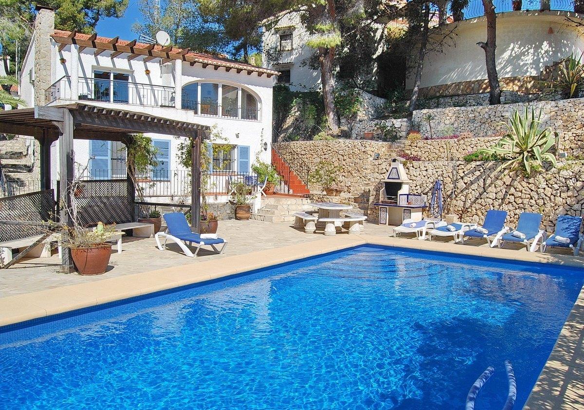 Espagne, Alicante, Benissa, Villa, ref 26660
